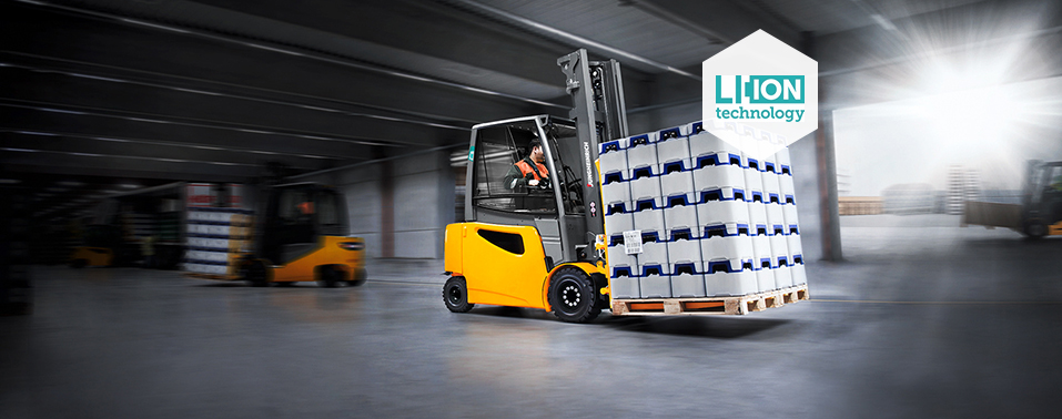 Lithium-ion Electric Forklifts